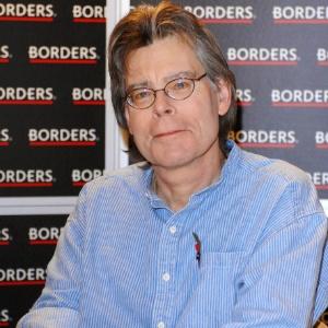O escritor Stephen King em foto de 2006 - Brainpix