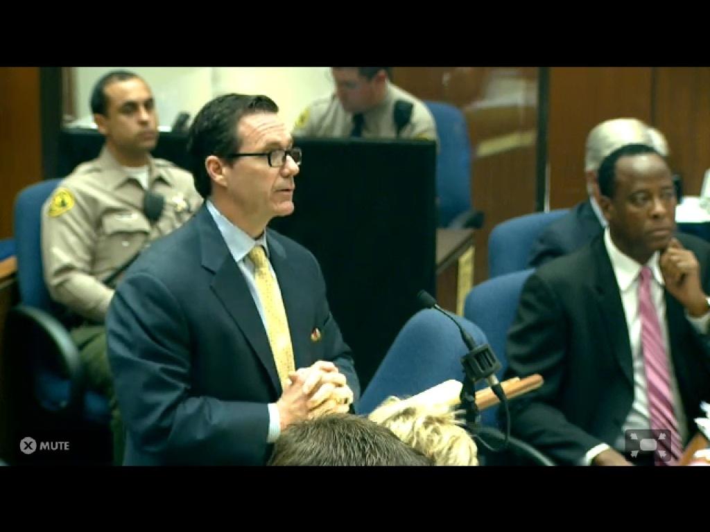Advogado de defesa de Conrad Murray, Ed Chernoff aponta falhas no trabalho de legista (06/10/2011)