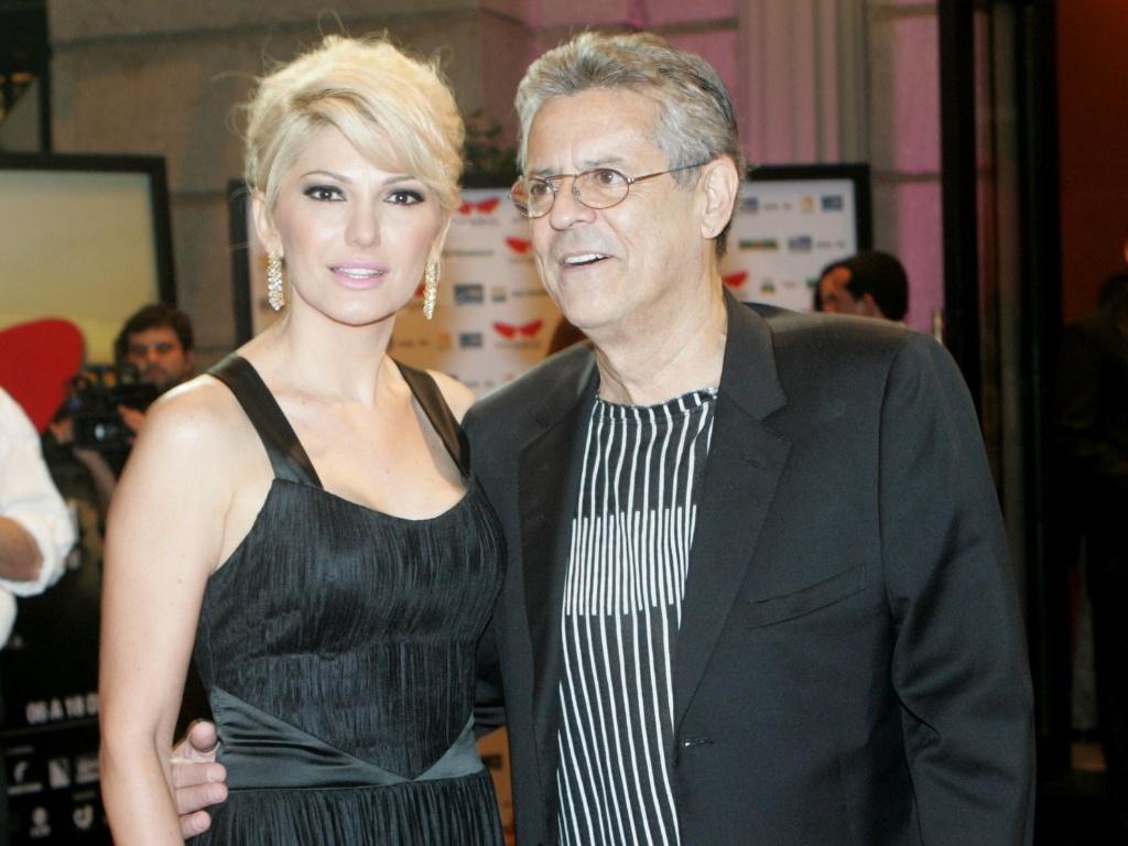 Antônia Fontenelle e Marcos Paulo na sessão de gala do Festival do Rio, no Cine Odeon (6/10/2011)