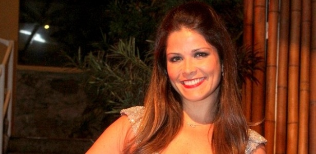 Samara Felippo faz festa para comemorar seus 33 anos no Rio (11/10/2011)