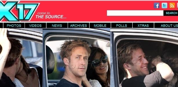 Ryan Gosling e Eva Mendes são flagrados em Hollywood (16/10/11)
