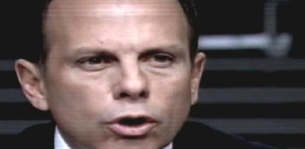 """João Dória Jr. durante estreia de """"O Aprendiz 8"""" (01/11/2011)"""