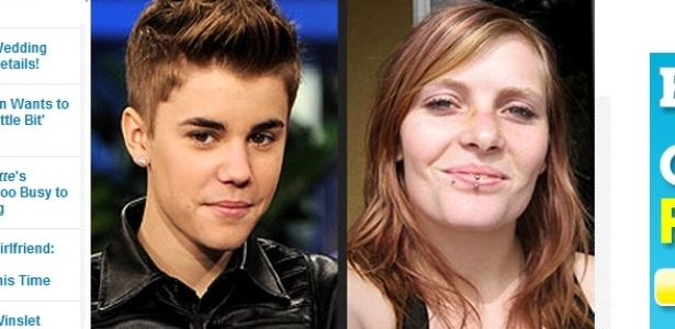 "Revista ""People"" divulga foto de Michelle Yeater, suposta mãe do filho de Justin Bieber (04/11/11)"