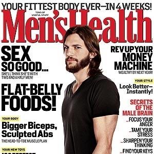 O ator Ashton Kutcher é capa da revista americana