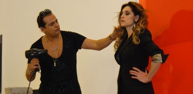 Christine Torloni em ensaio para a edição de dezembro da revista