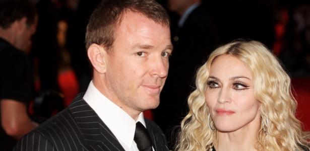 Madonna e Guy Ritchie travavam disputa judicial por causa do filho - Getty Images