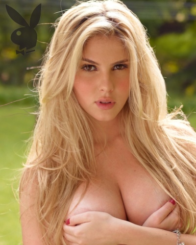 """Veja foto inédita da """"Playboy"""" de Bárbara Evans, capa da revista de dezembro (1º/12/11)"""
