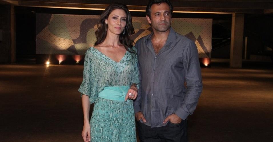 """Maria Fernanda Cândido e Domingos Montagner: protagonistas de """"O Brado Retumbante"""" (12/12/2011)"""