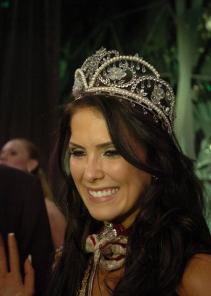 Débora Lyra, eleita Miss Brasil 2010