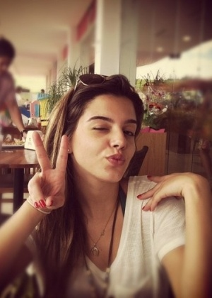 Foto de Giovanna Lancellotti publicada no Instagram de Pe Lanza, do Restart (6/1/12)