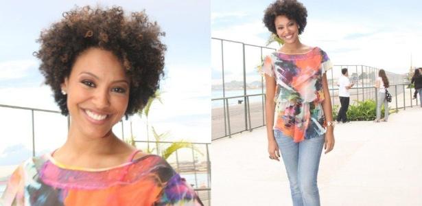 Sheron Menezes circula pelo Fashion Rio (13/1/2012) - AgNews