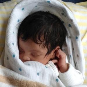 Blue Ivy Carter, filha de Beyoncé e Jay-Z, em foto de fevereiro de 2012