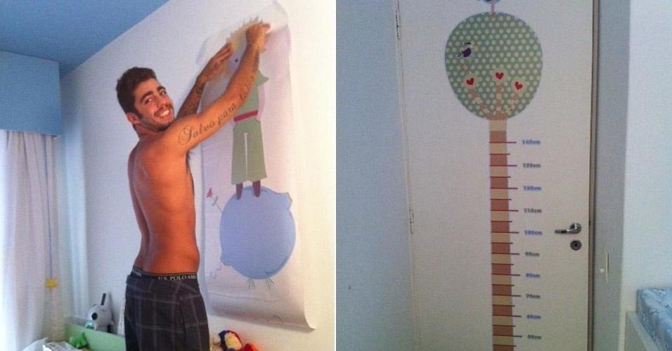 Luana Piovani posta foto do quarto de Dom no Twitter (25/2/12)