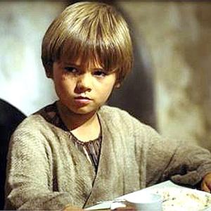 """O ex-ator Jake Lloyd como o jovem Anakin Skywalker em """"Star Wars Episódio I: A Ameaça Fantasma"""""""