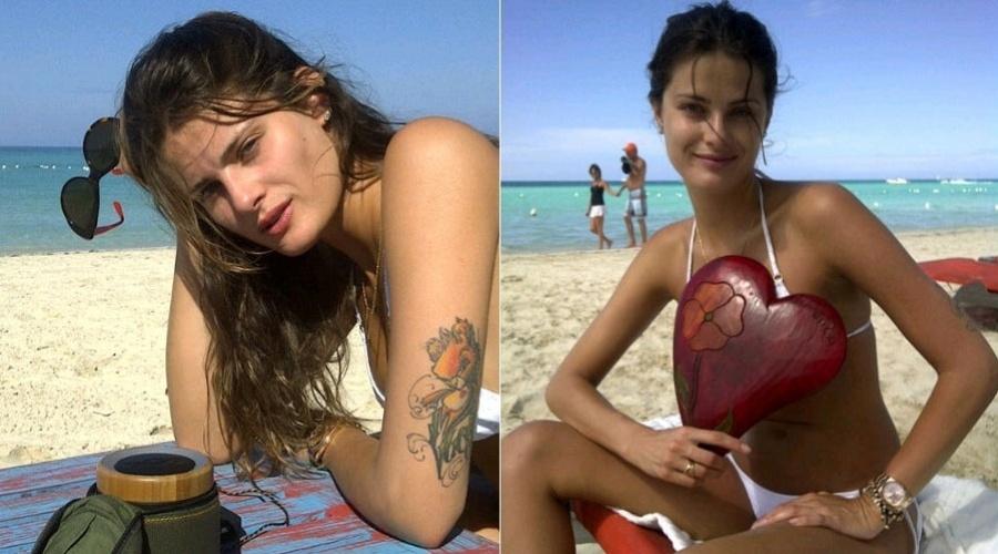 Namorado de Isabeli Fontana divulga imagens da top por meio de sua página no Twitter (26/1/12)
