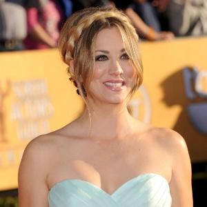 """A atriz da série """"The Big Bang Theory"""" Kaley Cuoco - Jason Merritt/Getty Images"""