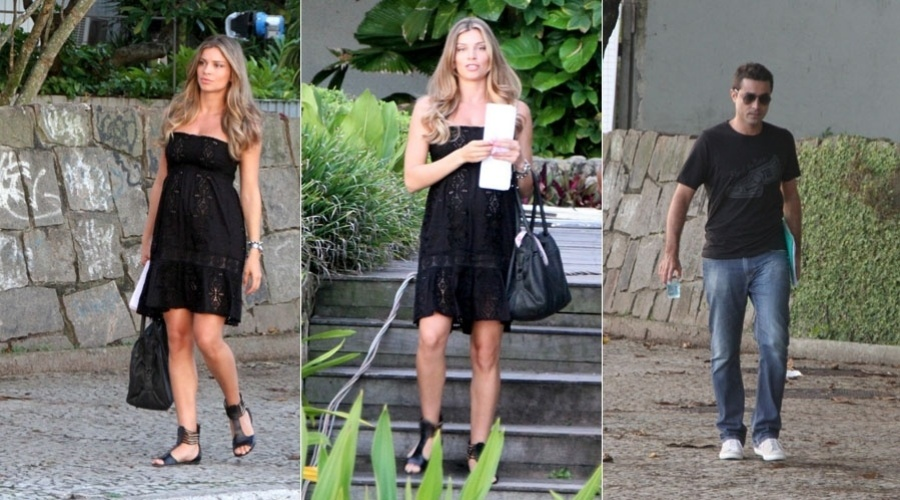"""Grazi Massafera grava cenas de """"Aquele Beijo"""" na zona sul do Rio (30/1/12)"""
