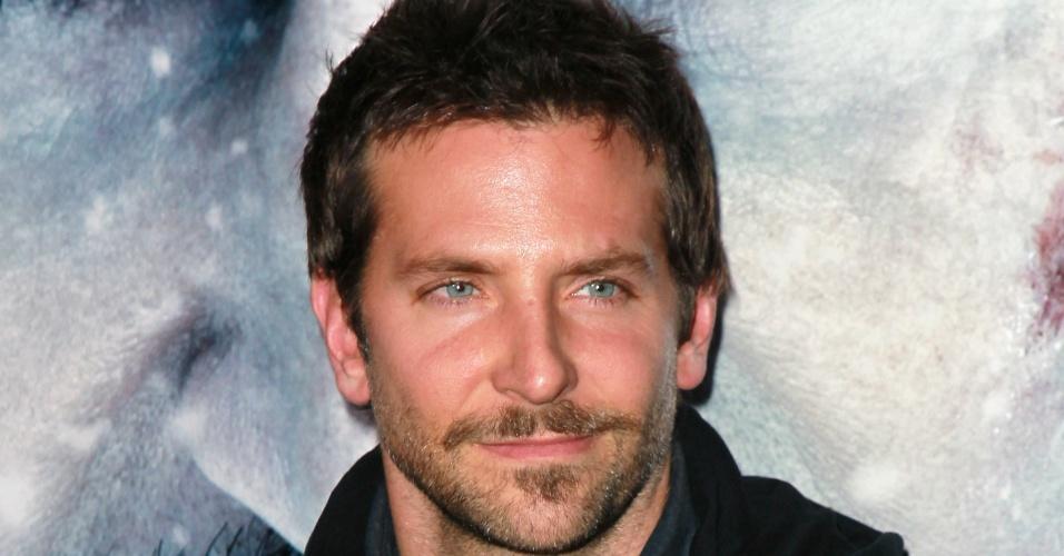 """Bradley Cooper aparece em 4° lugar na lista dos """"mais sexys do mundo"""""""
