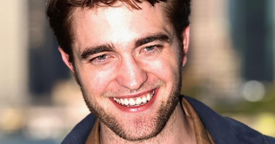 """O protagonista de """"Crepúsculo"""", Robert Pattinson aparece em 6° lugar na lista dos """"mais sexys"""""""