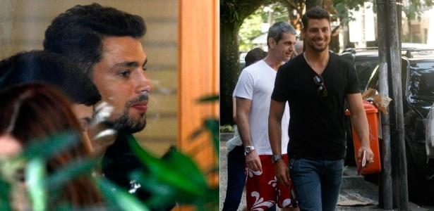 O ator Cauã Reymond almoça e caminha pelo Leblon, na zona sul do Rio de Janeiro (27/2/12)