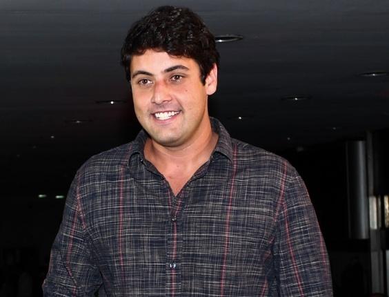 Bruno de Lucca também participou de festa em São Paulo (28/2/12)