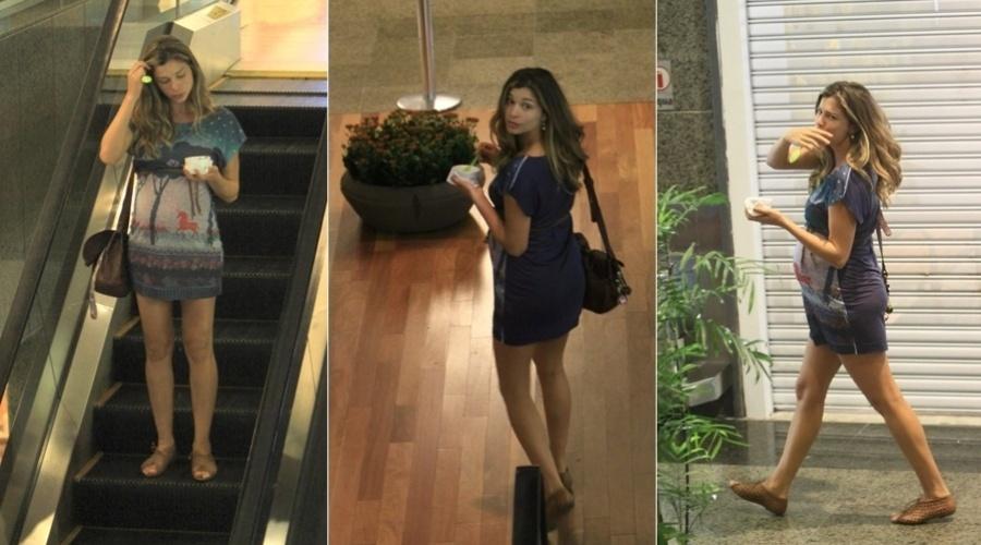Grazi Massafera passeia em shopping da zona oeste do Rio (6/3/2012)