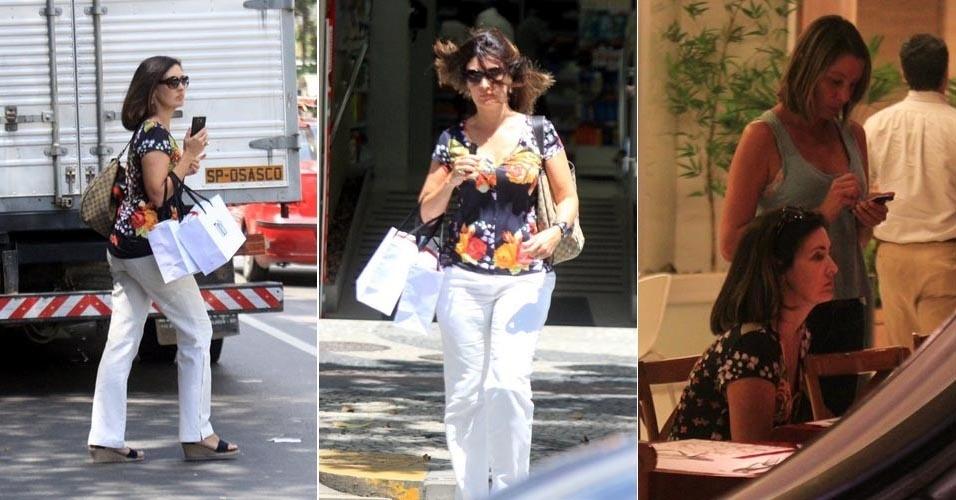 Fátima Bernardes passeia pelo Leblon, bairro carioca (7/3/12)