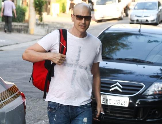 Desde agosto de 2011, Gianecchini está afastado dos palcos e da televisão depois de começar tratamento contra o câncer (8/3/12)