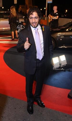 Jean Wyllys em evento do príncipe Harry no Rio (9/3/12)