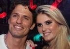Bárbara Evans e o ex-BBB João Maurício participam do lançamento de um revista em Goiânia - AgNews