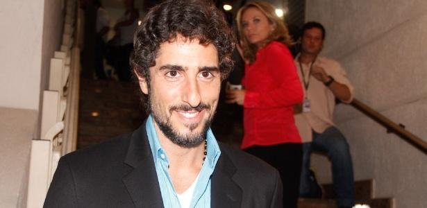 """Marcos Mion foi conferir a volta de Reynaldo Gianecchini ao teatro em """"Cruel"""" nesta terça (13) - Amauri Nehn/AgNews"""
