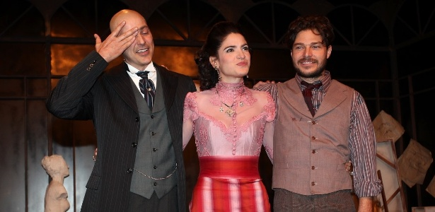 "Reynaldo Gianecchini se emociona no final de ""Cruel"" - Manuela Scarpa/Photo Rio News"