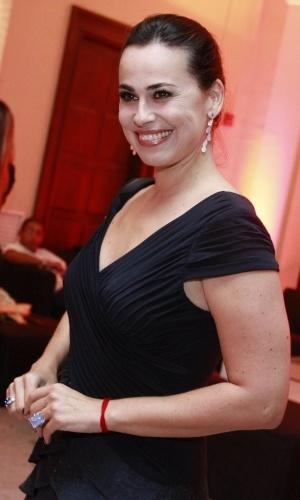 Daniela Escobar na festa de 30 anos da promoter Carol Sampaio, no Copacabana Palace, no Rio de Janeiro (15/3/12)