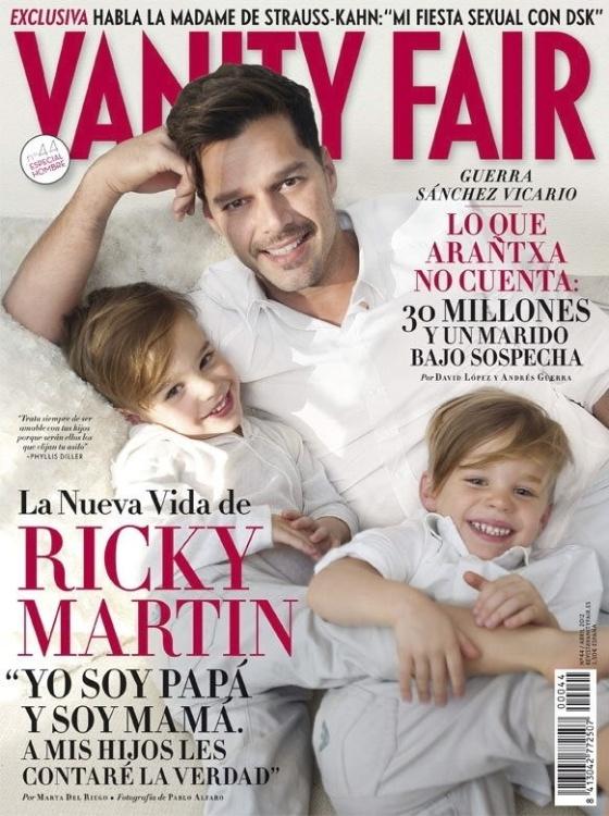 Capa da edição espanhola da revista
