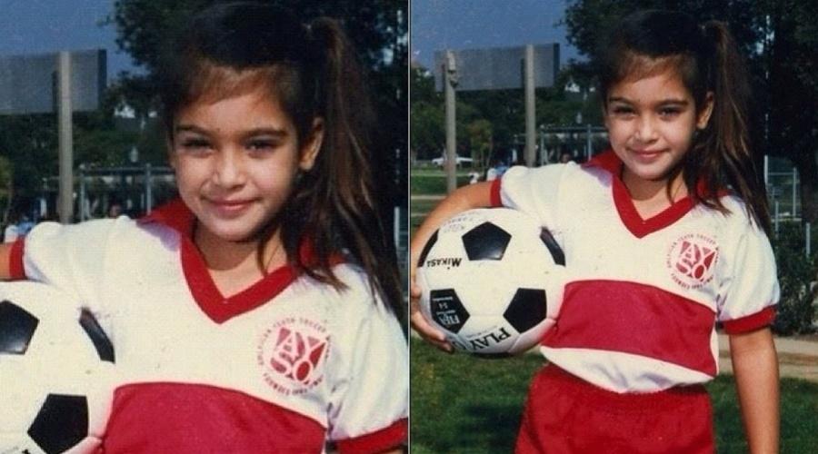 Kim Kardashian mostra imagem de quando tinha seis anos (22/3/2012)
