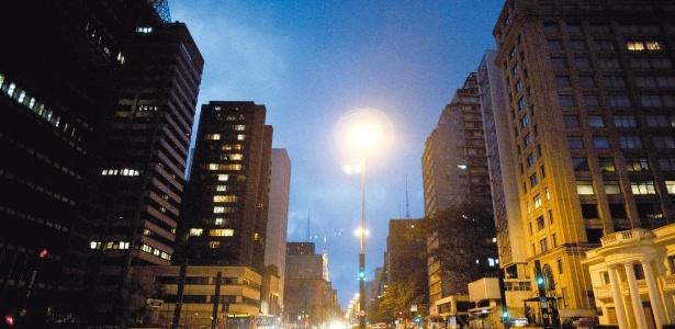 Avenida Paulista, em São Paulo, o metro quadrado de terreno mais caro da capital - Jefferson Coppola/Folha Imagem