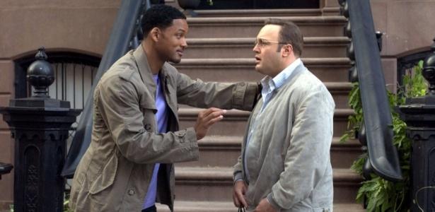 """Will Smith e Kevin James no filme """"Hitch - Conselheiro Amoroso"""", """"referência"""" no assunto"""