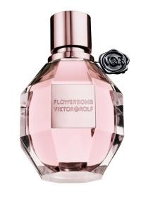Frasco do perfume Flowerbomb de Viktor & Rolf