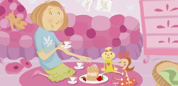 O companheiro imaginário pode ser representado por uma criança invisível ou brinquedos - Getty Images