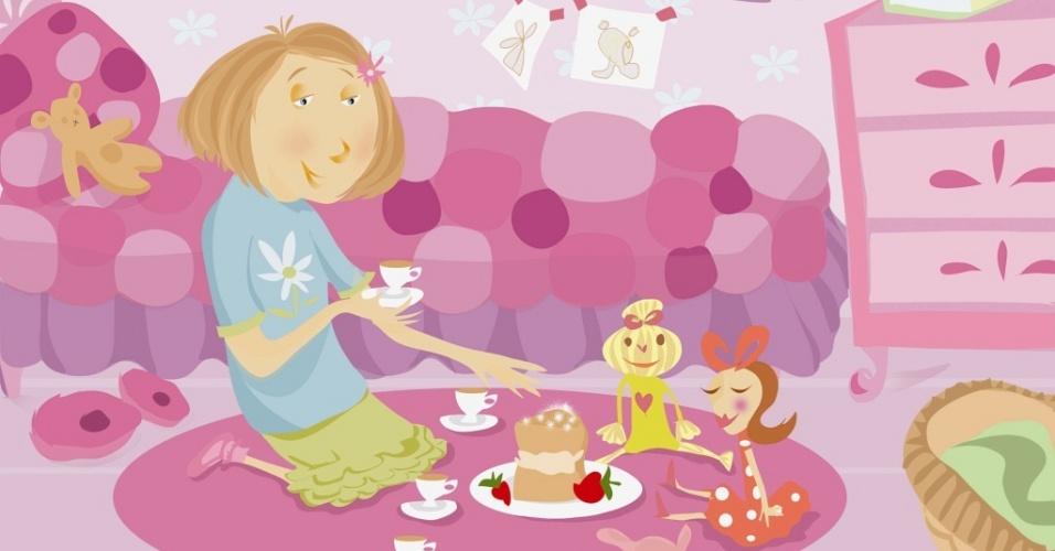 Amigo imaginário pode ser bom para o desenvolvimento da criança