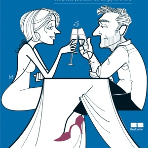 """Capa do livro """"Cuidado! Seu Príncipe pode ser uma Cinderela"""", de Ticiana Azevedo e Consuelo Dieguez"""