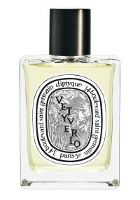 Frasco do perfume Vetyverio, da perfumaria francesa Diptyque