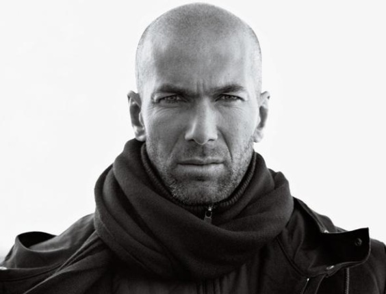 Zinedine Zidane na campanha Inverno 2010/11 da Y-3