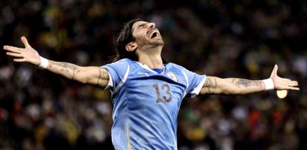 Loco Abreu é um dos jogadores mais supersticiosos da seleção uruguaia