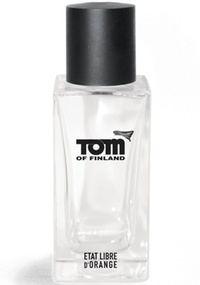 Frasco do perfume Tom of Finland da perfumaria Etat Libre d'Orange