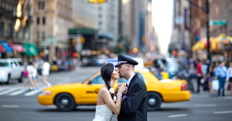 Foto de casamento em estilo