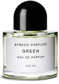 Frasco do perfume Green da Byredo Parfums