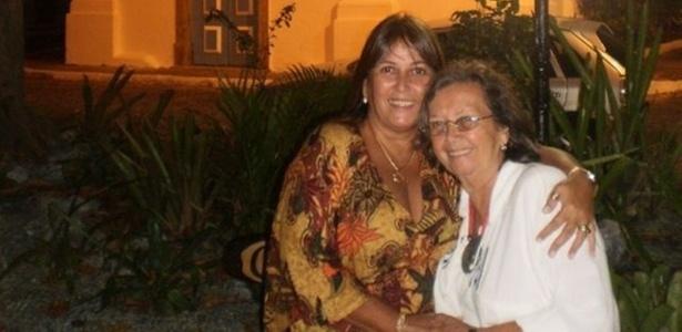 Iria Bastos e a mãe, Maria de Lourdes Bastos: superação em família - Divulgação