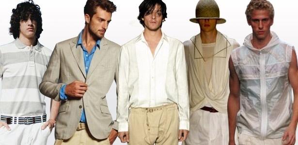 Richards, Redley, Reserva, British Colony e Osklen são responsáveis pela repaginação do guarda-roupa masculino - Arte UOL