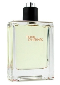 Frasco do perfume Terre d'Hermès